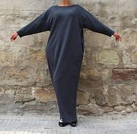 Красивое платье макси свободный силуэт
