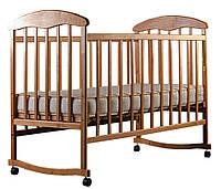Детская кроватка Наталка Ясень нелакированная