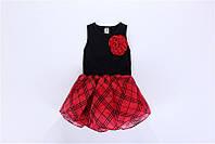 Детское платье с юбкой - Надин