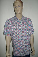 Модная рубашка короткий рукав