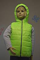 Утепленная жилетка детская на весну - унисекс  №708