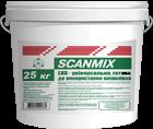 Шпаклівка Scanmix LHD 60 25кг. Фінішна акрилова шпаклівка на мармуровій основі