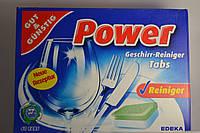 Таблетки для посудомойки G&G Power, 60шт., Германия