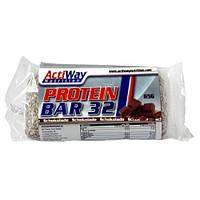Протеиновые батончики ACTIWAY  Protein Bar 32 Chocolate 65 g
