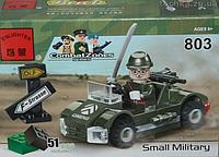 """Конструктор """"Brick"""" """"Военное авто"""""""