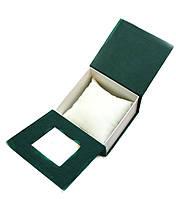 Подарочная коробочка для часов зеленого цвета