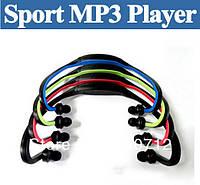 Беспроводные портативные Wrap Around спортивные наушники для бега (голубой цвет)