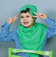Весенняя шапка для мальчика/Весняна шапка для хлопчика. Модель Бруклин.  Размеры 52, 54.
