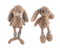 Мягкие игрушки Bukowski MIRABELLE & MALOU (GRAY) 25cm