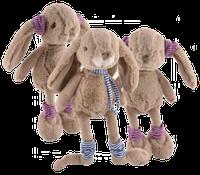 Мягкие игрушки Bukowski MIRABELLE & MALOU (PINK/NAVY) 25cm