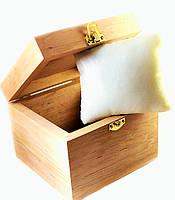 Подарочная коробочка для часов деревянная
