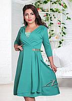 Красивое женское платье-батал (два цвета)