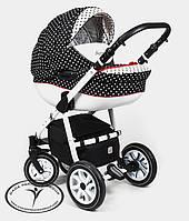 Универсальная коляска 2в1 Dada Paradiso Group GLAMOUR DOTS ALU 2015