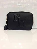 Женская сумка клатч Rb 304 черный из кожзама