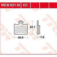 Тормозные колодки комплект для Husqvarna / KTM TRW / Lucas MCB831SI
