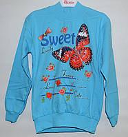 Кофточка для девочки 9-12 лет Sweet Lovely голубая