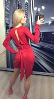 """Платье """"Загадка"""",  красное"""