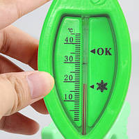 Ozendik Детский термометр для ванной  зеленый 15,5*5,8см (пластик)
