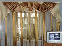 Дизайн окна с ламбрикенами