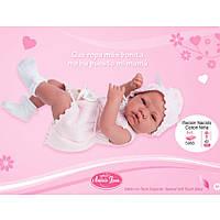 Кукла младенец Nacido Coton Niña Antonio Juan 5068