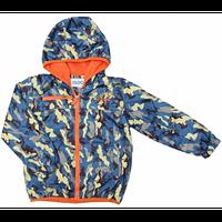 """Куртка для мальчика на флисе/Куртка для хлопчика на флісі.  """"Комуфляж"""" ТМ Олдос. Размеры: 110, 116, 128."""