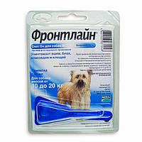 Фронтлайн (Frontline) Спот - Он  M капли для собак от 10 до 20 кг., пипетка