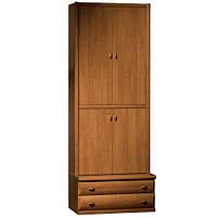 Шкаф бельевой с подставкой 90 БОРИС Gerbor-Холдинг, цвет орех экко