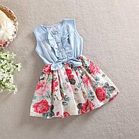 Платье для малышки.Летнее платье для девочки.