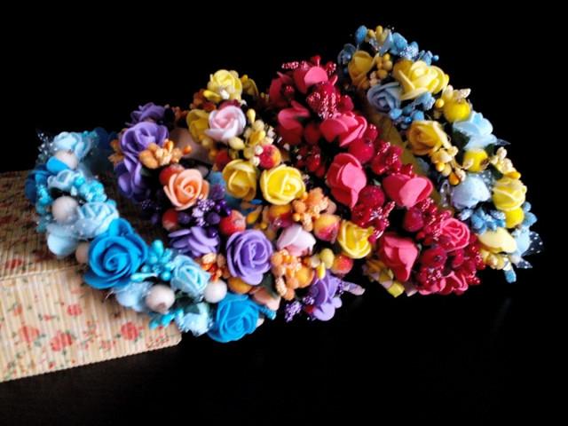 Латекс цветы своими руками