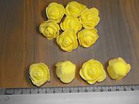 Розочки латексные желтые
