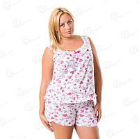 Ночная рубашка Sentina батал Арт. SNTN-147 купить ночные рубашки батал дешево оптом