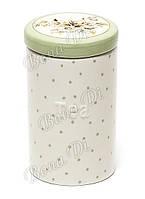 Банка керамическая для чая Cottage Flower зеленая 700мл Bonadi DK0043-D