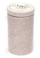 Банка для сахара Cottage Flower розовая Bonadi 700мл DK0044-D