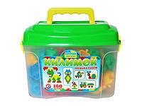 Детская игра Мозаика-пазлы Коврик 160 деталей пластик Технок