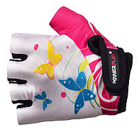 Велосипедные перчатки для детей Power Play. Белый