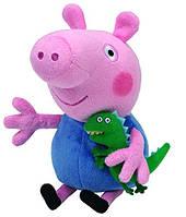 Мягкая игрушка Свинка Джордж с игрушкой