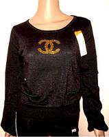 Свитер с логотипом Шанель