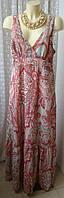 Платье женское летнее макси бренд TCM р.50-52 5525а