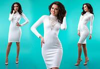 Короткое платье  , с длинным рукавом