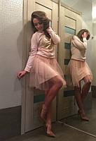 Костюм юбка+свитшот Сердце