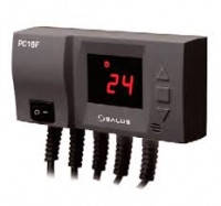 Контроллер вентилятора твердотопливного котла и насоса Ц.О. Salus PC16F