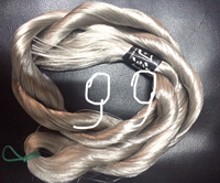 "Волос для кукол, синтетика. Модель - ""Софи 99"".  На трессе."