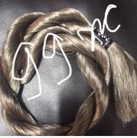 "Волос для кукол, синтетика. Модель - ""Софи 99Ж"".  На трессе."