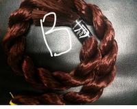 """Волос для кукол, синтетика. Модель - """"Софи В"""".  В срезе."""