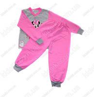 Детская пижама для девочки Мини Маус  на флисе