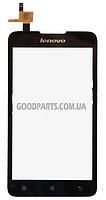 Сенсорный экран (тачскрин) для Lenovo A529 черный (Оригинал)