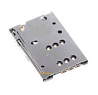 Коннектор Sim карты Nokia 302, 500, 701, C2-05, C6-01, C7-00, E5-00, E6-00, N8-00
