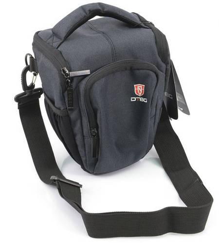 Качественная сумка для зеркальной фотокамеры DTBG D8709BL серо/черный