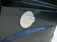 Накладка на лючок бензобака (нерж.) Fiat Doblo (2001+)