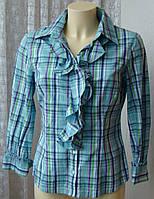 Рубашка женская модная хлопок бренд Marco Pecci р.44-46 5549